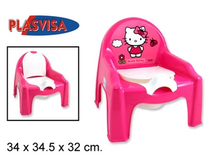 Sedia Vasino Hello Kitty